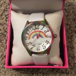 Betsey Johnson Rainbow Watch